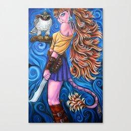 Dawn's Companion Canvas Print
