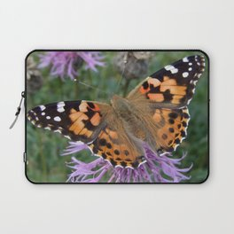 Painted Lady Butterfly Laptop Sleeve