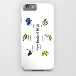 New Zealand Birds iPhone Case