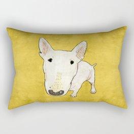 English Bull Terrier pop art Rectangular Pillow