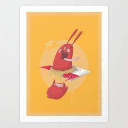Sausage Art Print