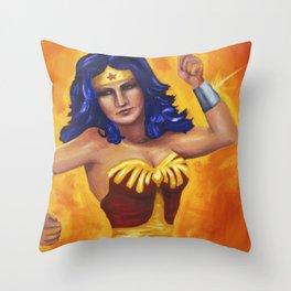Princess Diana of Themyscira Throw Pillow