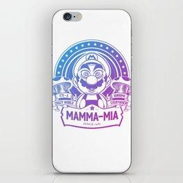 Mamma Mia Super Mario is-a Crazy iPhone Skin