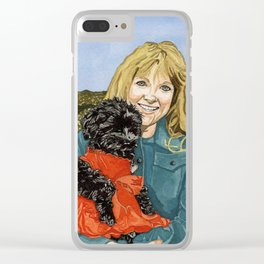 Sherry & Du Clear iPhone Case