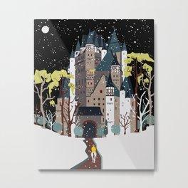 castle Metal Print