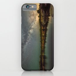 Milkyway at Halibut Point State Park quarry iPhone Case