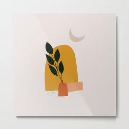 The Wall Theory Boho Print Art Metal Print