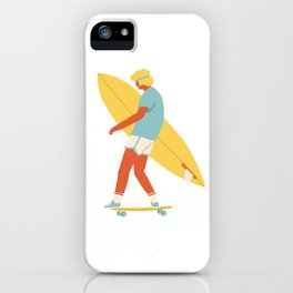 Skater from 70s iPhone Case