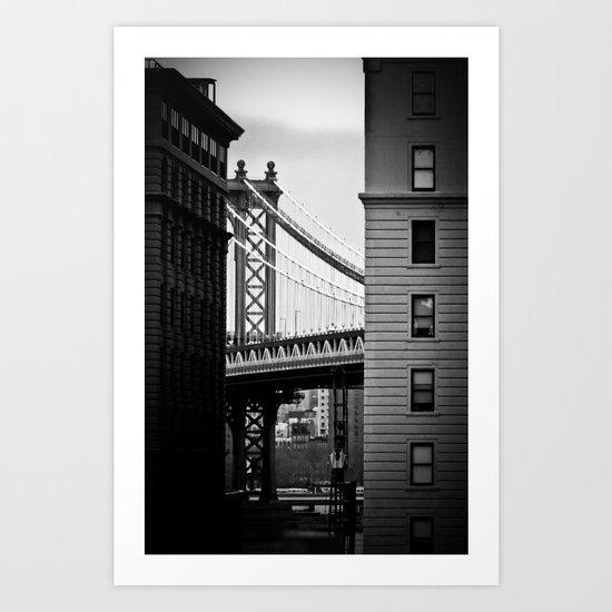 Manhattan Bridge II Art Print
