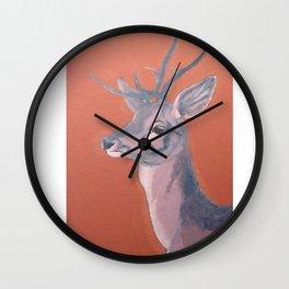 Deer 1 Wall Clock