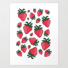 Sweet Like Summer Art Print