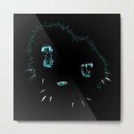 Attack the block (black version) Metal Print
