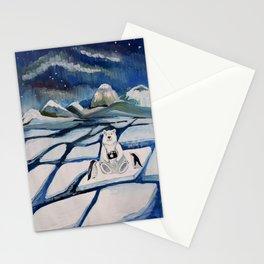 north bear Stationery Cards
