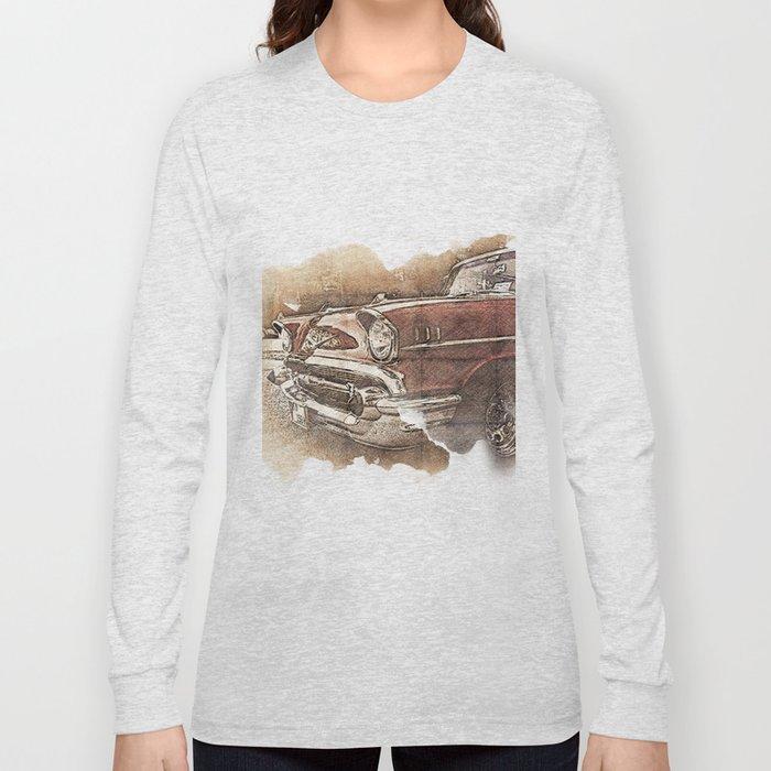 Retro Car Long Sleeve T-shirt