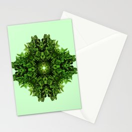 mint leaves in ornament Stationery Cards