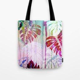 Drippy Jungle {light} Tote Bag