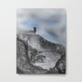 Crail, Fife, Scotland: Digital illustration from Photograph Metal Print