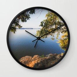 Morning on Lake Barkley Wall Clock