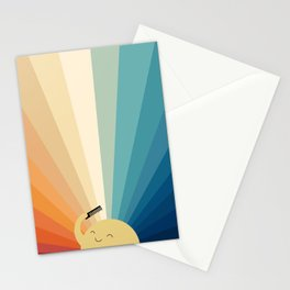 Sunshine will be ready in a minute Stationery Cards