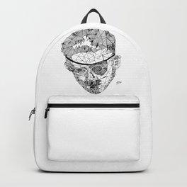 James Joyce - Hand-drawn Geometric Art Print Backpack