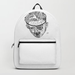 James Joyce - Hand-drawn Geometric Art Print Backpack