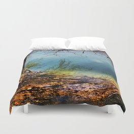 Where's The Waters Edge? Duvet Cover