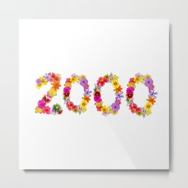 All Color Flower 2000 Metal Print
