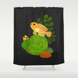 Shell Dwellers Shower Curtain