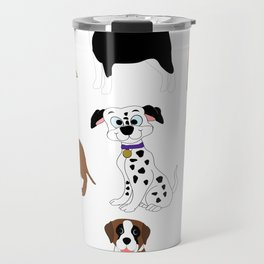 Pet dogs design Travel Mug