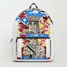 King Of Cards Backpack