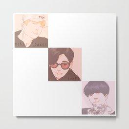 GOT7 - Maknae Line Metal Print