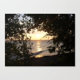 Welcome to My Happy Place Canvas Print