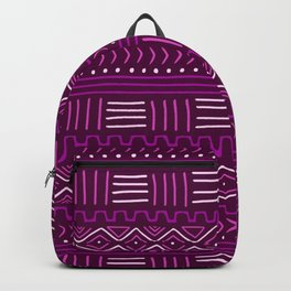 Mudcloth in Pinks Backpack