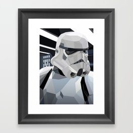 Stormtrooper Framed Art Print