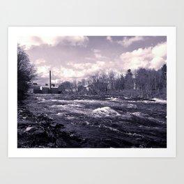 old mill river Art Print