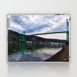 St. Johns Bridge Laptop & iPad Skin