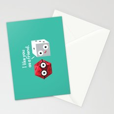 No Dice Stationery Cards