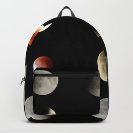 Super Moon eclipse photo collection (5-4) Backpack