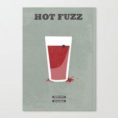 Hot Fuzz - minimal poster Canvas Print