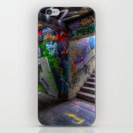 Leake Street London Graffiti iPhone Skin