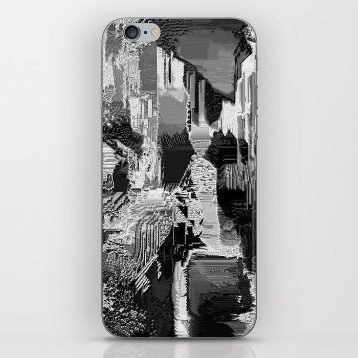 metal canal iPhone Skin
