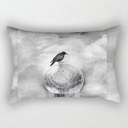 It's a Crow's World Rectangular Pillow