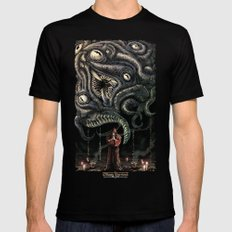 Shoggoth Mens Fitted Tee LARGE Black