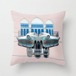 Gemmayzeh - Beirut Throw Pillow
