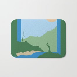 Unnatural Boundaries Bath Mat