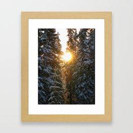 Little ray of sunshine Framed Art Print