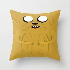 ADVENTURE TIME: JAKE Throw Pillow