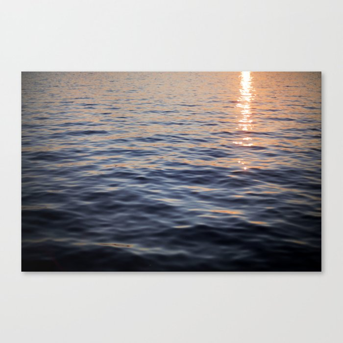 Puget Sound Sunset II Canvas Print