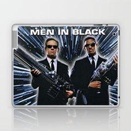 Men Black In Laptop & iPad Skin