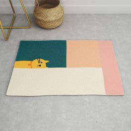 Little_Cat_Cute_Minimalism Rug